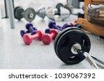 set of equipment for... | Shutterstock . vector #1039067392