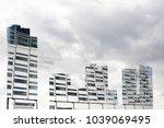 double exposure photo of...   Shutterstock . vector #1039069495