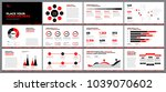 presentation template design.... | Shutterstock .eps vector #1039070602