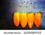 composition with fresh... | Shutterstock . vector #1039089535