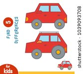 find differences  education... | Shutterstock .eps vector #1039093708
