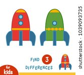 find differences  education... | Shutterstock .eps vector #1039093735