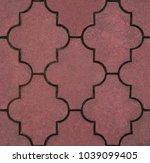 paver stone seamless pattern  ... | Shutterstock . vector #1039099405