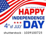 independence day.  usa | Shutterstock . vector #1039100725