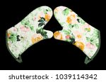 an image of oven gloves | Shutterstock . vector #1039114342
