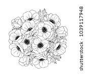 Anemones   Flower  Bouquet....