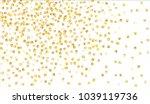 big golden confetti. festive...   Shutterstock .eps vector #1039119736