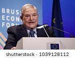 george soros  founder and... | Shutterstock . vector #1039128112