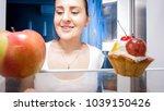 portrait from inside of... | Shutterstock . vector #1039150426