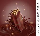 vector promotion banner ... | Shutterstock .eps vector #1039159216