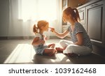happy mother's day  child... | Shutterstock . vector #1039162468