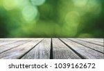 rustic wood table texture over... | Shutterstock . vector #1039162672