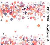 rhombus pattern minimal... | Shutterstock .eps vector #1039163338