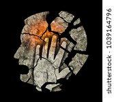 depression madness headache. ... | Shutterstock . vector #1039164796