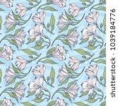 Seamless Spring Floral Pattern...