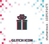 simple gift  glitch effect...