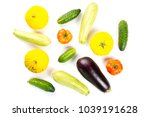 vegetarian healthy food with... | Shutterstock . vector #1039191628