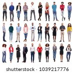 group of people team  | Shutterstock . vector #1039217776