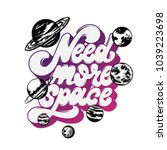 need more space. vector... | Shutterstock .eps vector #1039223698