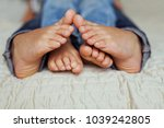 Beautiful Funny Feet Of  Young...