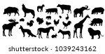 animals set of the world. vector | Shutterstock .eps vector #1039243162