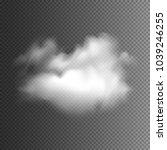 fog or smoke. illustration...   Shutterstock .eps vector #1039246255