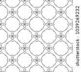 seamless vector pattern in... | Shutterstock .eps vector #1039269232