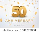 50 Anniversary Gold Numbers...