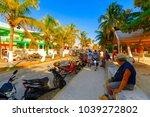 isla mujeres. mexico  november...   Shutterstock . vector #1039272802
