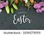 Happy Easter Text With...