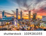 Stock photo atlanta georgia usa downtown skyline 1039281055