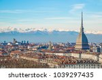 turin  torino   mole... | Shutterstock . vector #1039297435