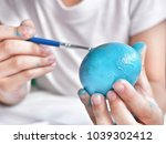 close up of kid ' s hand... | Shutterstock . vector #1039302412