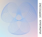 abstract spirograph element for ...   Shutterstock .eps vector #1039311262