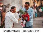 mexicocity  mexico   decembre... | Shutterstock . vector #1039323145