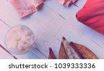 kapok  or ceiba pentandra  is a ... | Shutterstock . vector #1039333336