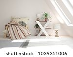 inspiration of white minimalist ... | Shutterstock . vector #1039351006