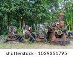 Old And Rusty Unworkable Diesel ...
