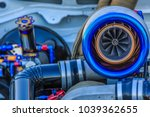 close up of turbo charger...   Shutterstock . vector #1039362655