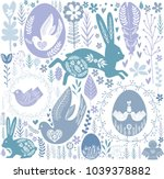 Easter Seamless Pattern In...