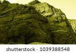 martian landscape of the lost... | Shutterstock . vector #1039388548