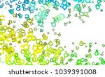 light green  yellow vector... | Shutterstock .eps vector #1039391008