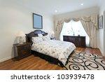 stylish double bedroom | Shutterstock . vector #103939478
