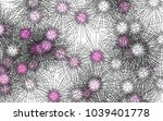 light colored vector layout... | Shutterstock .eps vector #1039401778