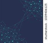 blockchain technology... | Shutterstock .eps vector #1039406125