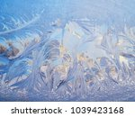 Abstract Frost Texture On A...
