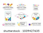 creative kids design collection.... | Shutterstock .eps vector #1039427635