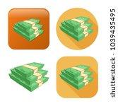 Dollar Cash Coins Icon   Money...