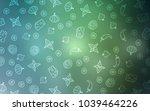 light blue  green vector layout ...   Shutterstock .eps vector #1039464226