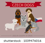 dogs by country of origin.... | Shutterstock .eps vector #1039476016